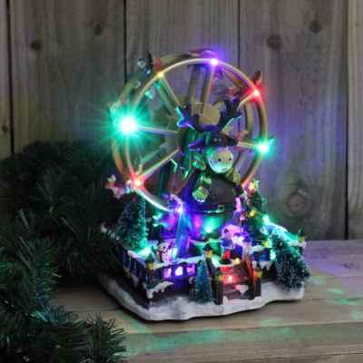 Christmas LED Animated Ferris Wheel with Sound