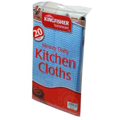20 Pack of General Purpose Household Cloths
