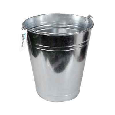9L Galvanised Bucket