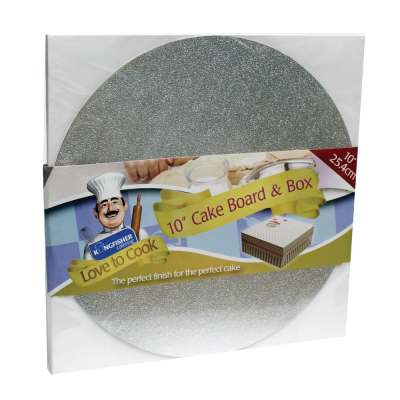 10 Inch Cake Board and Box