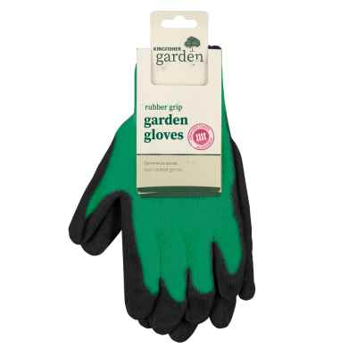 Medium Rubber Grip Garden Gloves