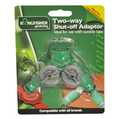 Two Way Shut-off Adaptor