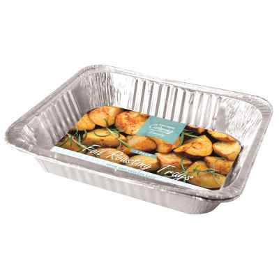 2 Pack of Large Foil Roasting Trays