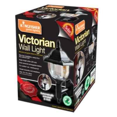 Victorian Style Solar Wall Light