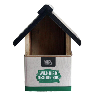 Deluxe Wooden Bird Nesting Box
