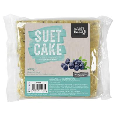 Suet Cake with Wild Berries [NOT EU]