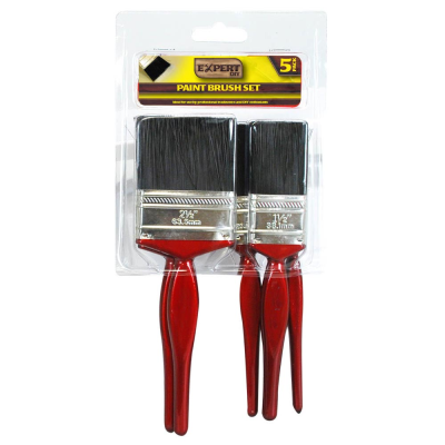 5 Piece Paint Brush Set