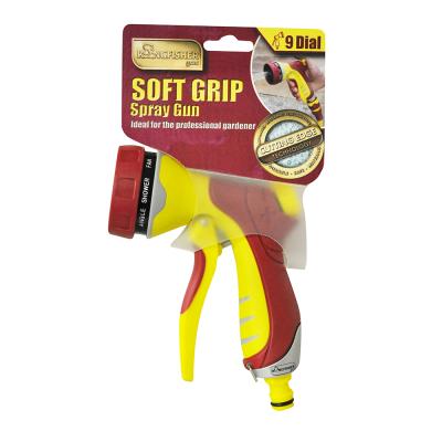 Pro Gold 9 Dial Soft-Grip Deluxe Spray Gun