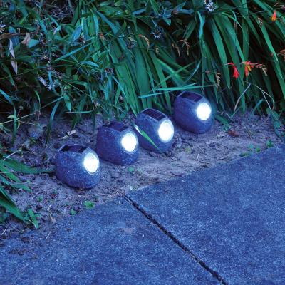 4 Pack Solar Rock Lights