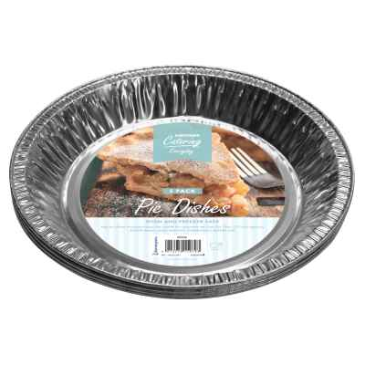 Pack of 5 Foil Pie Dishes