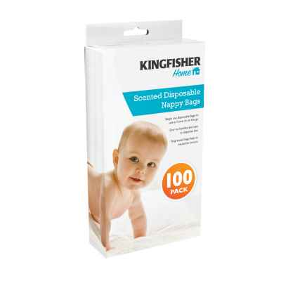 100 Pack Disposable Nappy Bags
