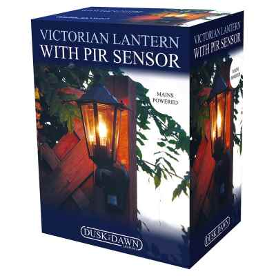 Victorian Style Wall Light with PIR Sensor