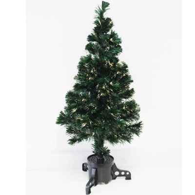 90cm Warm White Fibre Optic Tree