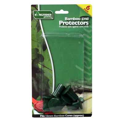 6 Pack of Bamboo End Protectors