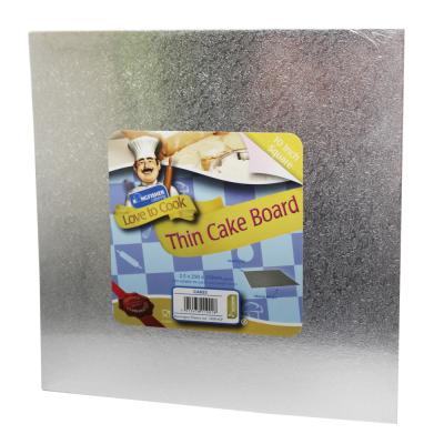 10 Inch (25cm) Square Thin Cake Board