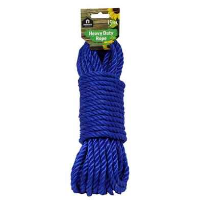 15m x 9.5mm Heavy Duty Polypropylene Rope
