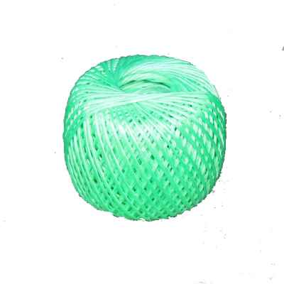 Green Poly Twine in a Roll