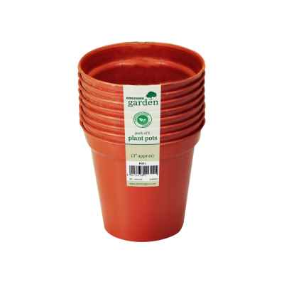 8 Pack x 8cm(3in) Plant Pots
