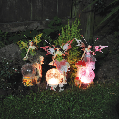 Medium Solar Fairy Garden Light Decoration
