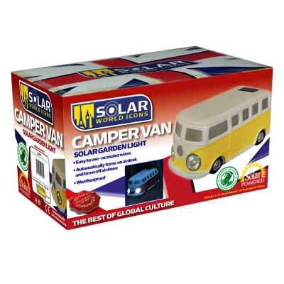 Solar Powered Camper Van Garden Light