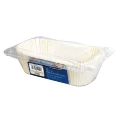 15 Pack of Medium Loaf Cake Tin Cases