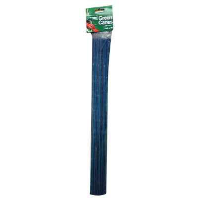 20 Pack of 60cm Split Green Garden Canes
