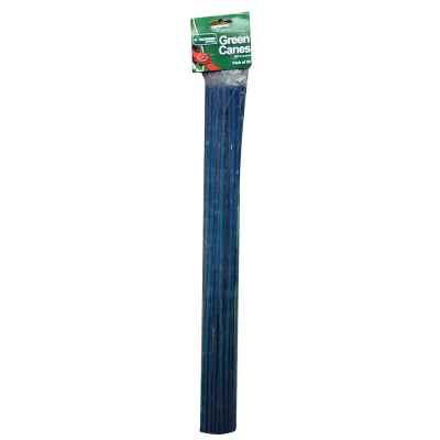 20 Pack of 60cm Split Green Garden Canes