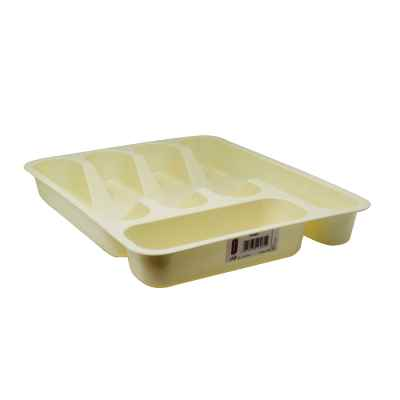 Cream Cutlery Tray