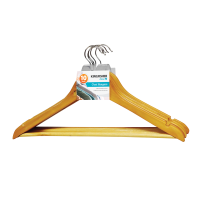 10 Pack of Wooden Clothes Hangers