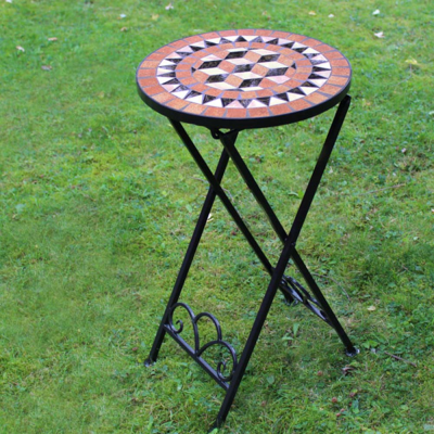 Mosaic Drinks Side Table