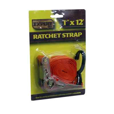 1inch x 12ft Single Ratchet Strap