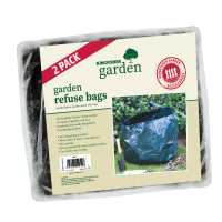 2 Pack garden refuse bags