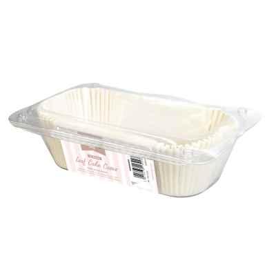 15 Pack of Medium Loaf Cake Tin Cases