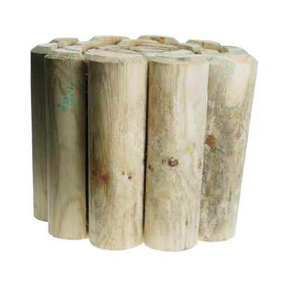 23cm (9in) Log Roll Garden Edging