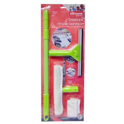 1.29m Telescopic Window Cleaning Set