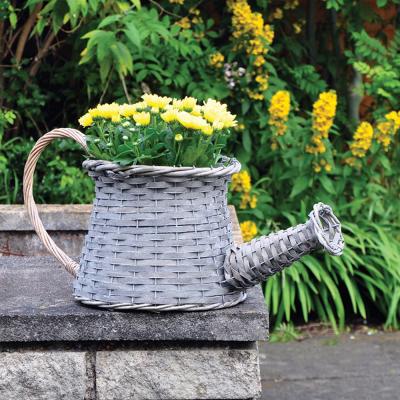 Wicker Watering Can Basket