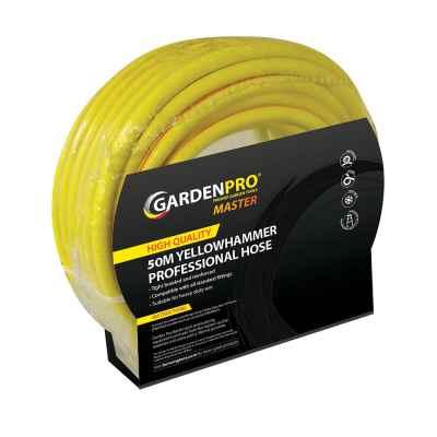 Garden Pro Mast 50m Professional Yellowhammer Hose