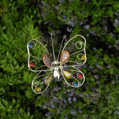 Dragonfly And Butterfly Garden Stakes