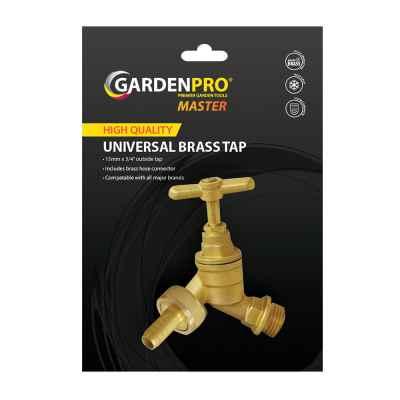 Garden Pro Master Universal Brass Tap