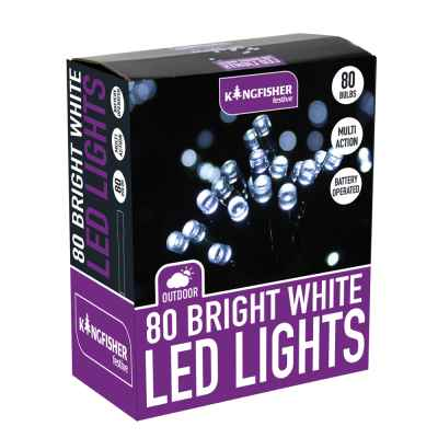 80 Battery Operated Multi Action Automatic Lights