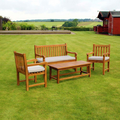4 Piece Teak Furniture Set