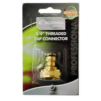 Pro Platinum Brass Threaded Tap Connector