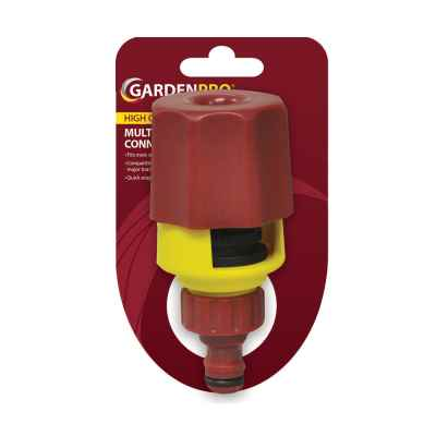 Garden Pro Hose Pipe Multi Tap Connector