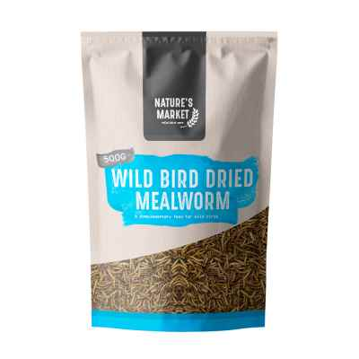 500g Pouch Dried Mealworm [NOT EU]