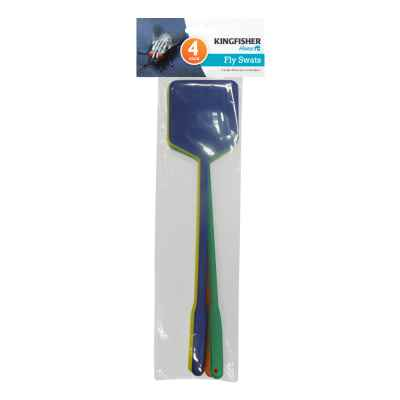 4 Pack Plastic Fly Swats