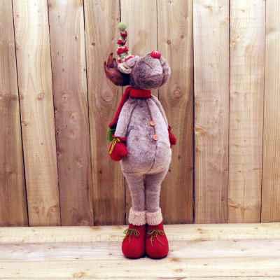 Standing Plush Reindeer