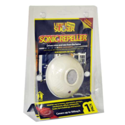 1 Pack Sonic Electronic Mouse and Rat Repeller