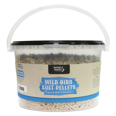 3kg Tub Suet Pellets Feed