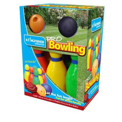 Plastic Bowling Skittle Set