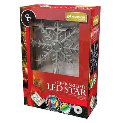 Colour Changing Light Up Flashing LED Star